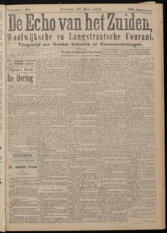Echo van het Zuiden 1915-05-16