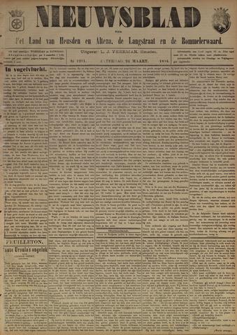Nieuwsblad het land van Heusden en Altena de Langstraat en de Bommelerwaard 1894-03-24