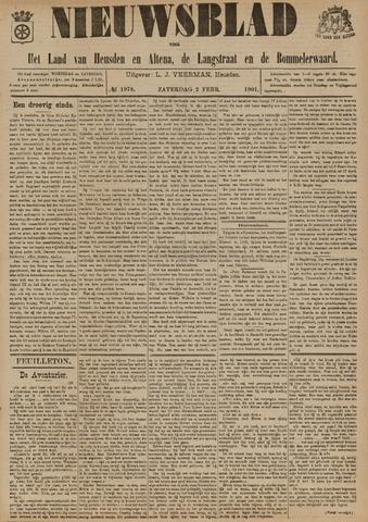 Nieuwsblad het land van Heusden en Altena de Langstraat en de Bommelerwaard 1901-02-02