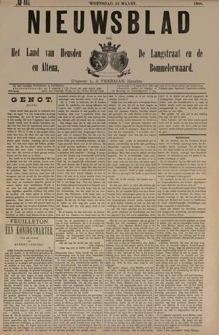 Nieuwsblad het land van Heusden en Altena de Langstraat en de Bommelerwaard 1888-03-14