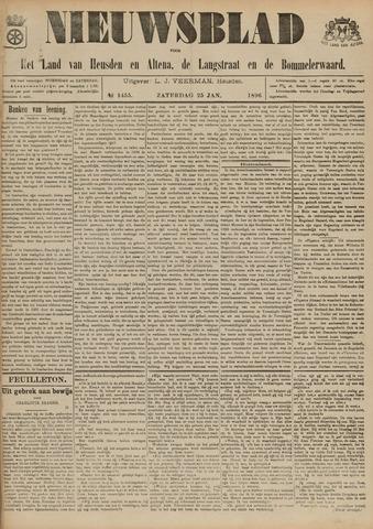 Nieuwsblad het land van Heusden en Altena de Langstraat en de Bommelerwaard 1896-01-25