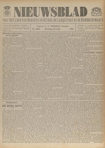 Nieuwsblad het land van Heusden en Altena de Langstraat en de Bommelerwaard 1919-06-25