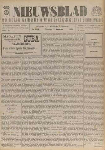 Nieuwsblad het land van Heusden en Altena de Langstraat en de Bommelerwaard 1918-08-17