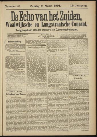 Echo van het Zuiden 1891-03-08