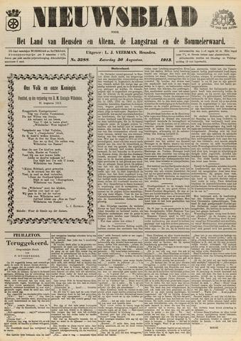 Nieuwsblad het land van Heusden en Altena de Langstraat en de Bommelerwaard 1913-08-30