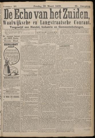 Echo van het Zuiden 1908-03-29