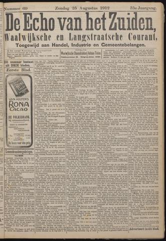 Echo van het Zuiden 1912-08-25