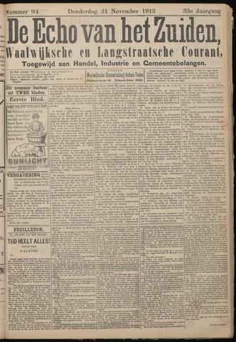Echo van het Zuiden 1912-11-21