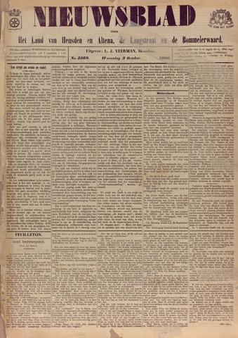 Nieuwsblad het land van Heusden en Altena de Langstraat en de Bommelerwaard 1906-10-03