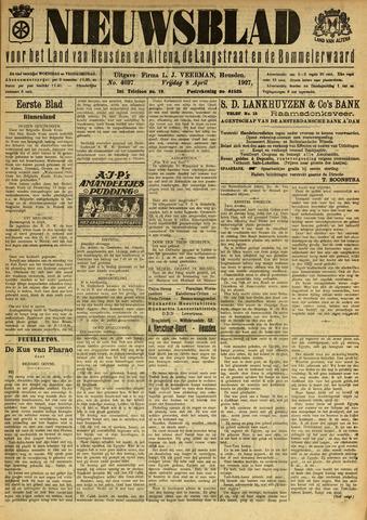 Nieuwsblad het land van Heusden en Altena de Langstraat en de Bommelerwaard 1927-04-08