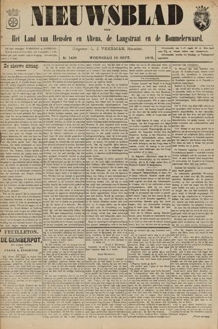 Nieuwsblad het land van Heusden en Altena de Langstraat en de Bommelerwaard 1895-09-18