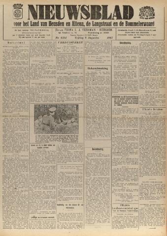 Nieuwsblad het land van Heusden en Altena de Langstraat en de Bommelerwaard 1943-08-06