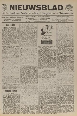Nieuwsblad het land van Heusden en Altena de Langstraat en de Bommelerwaard 1948-04-01