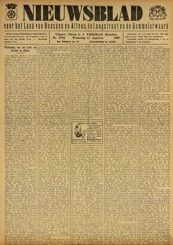 Nieuwsblad het land van Heusden en Altena de Langstraat en de Bommelerwaard 1927-08-17