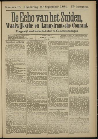 Echo van het Zuiden 1894-09-20