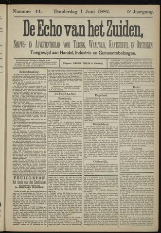 Echo van het Zuiden 1882-06-01