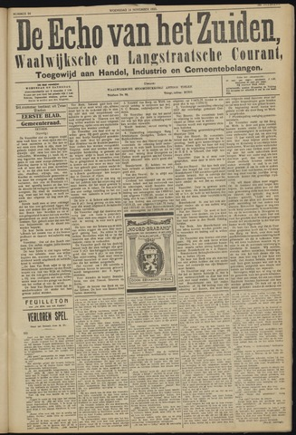 Echo van het Zuiden 1923-11-14