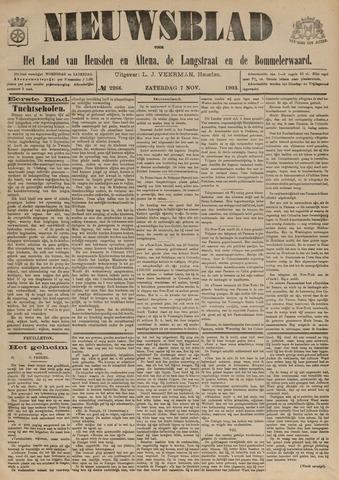 Nieuwsblad het land van Heusden en Altena de Langstraat en de Bommelerwaard 1903-11-07