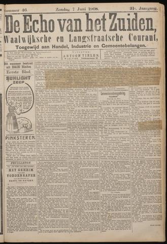 Echo van het Zuiden 1908-06-07