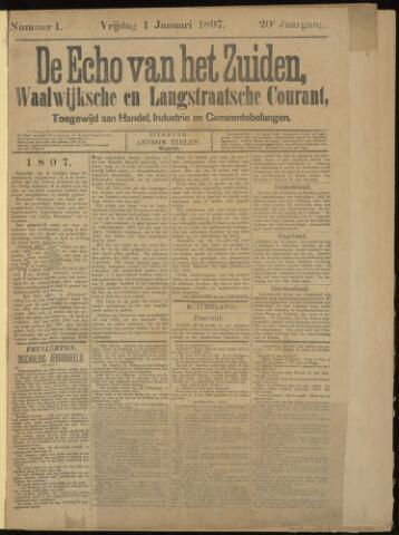 Echo van het Zuiden 1897-01-01
