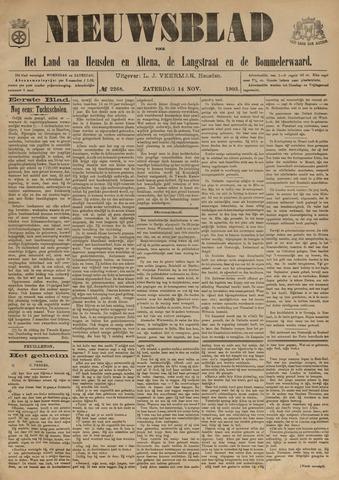 Nieuwsblad het land van Heusden en Altena de Langstraat en de Bommelerwaard 1903-11-14