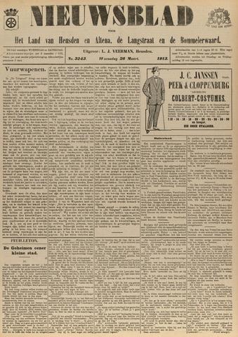 Nieuwsblad het land van Heusden en Altena de Langstraat en de Bommelerwaard 1913-03-26