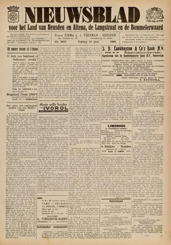 Nieuwsblad het land van Heusden en Altena de Langstraat en de Bommelerwaard 1936-06-19