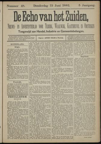 Echo van het Zuiden 1882-06-15