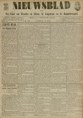 Nieuwsblad het land van Heusden en Altena de Langstraat en de Bommelerwaard 1894-07-21