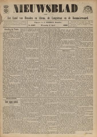 Nieuwsblad het land van Heusden en Altena de Langstraat en de Bommelerwaard 1906-04-04