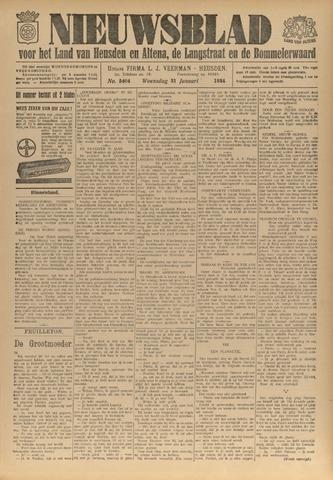 Nieuwsblad het land van Heusden en Altena de Langstraat en de Bommelerwaard 1934-01-31