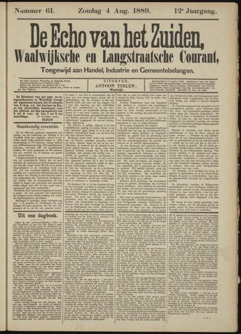 Echo van het Zuiden 1889-08-04