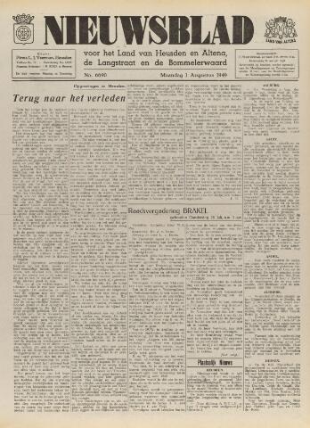 Nieuwsblad het land van Heusden en Altena de Langstraat en de Bommelerwaard 1949-08-01