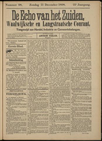 Echo van het Zuiden 1898-12-11