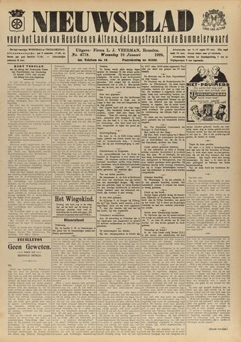 Nieuwsblad het land van Heusden en Altena de Langstraat en de Bommelerwaard 1928-01-18