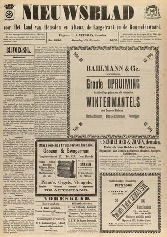 Nieuwsblad het land van Heusden en Altena de Langstraat en de Bommelerwaard 1915-12-18