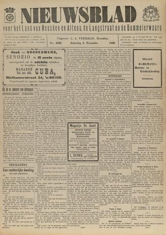 Nieuwsblad het land van Heusden en Altena de Langstraat en de Bommelerwaard 1920-11-06