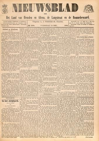 Nieuwsblad het land van Heusden en Altena de Langstraat en de Bommelerwaard 1904-12-14