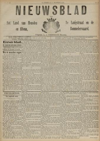 Nieuwsblad het land van Heusden en Altena de Langstraat en de Bommelerwaard 1891-11-14