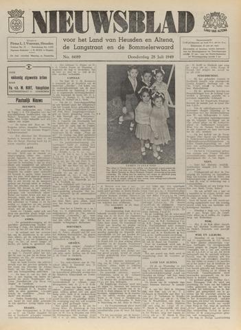 Nieuwsblad het land van Heusden en Altena de Langstraat en de Bommelerwaard 1949-07-28