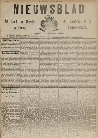 Nieuwsblad het land van Heusden en Altena de Langstraat en de Bommelerwaard 1891-12-30