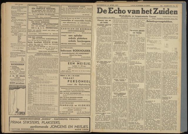 Echo van het Zuiden 1947-04-24