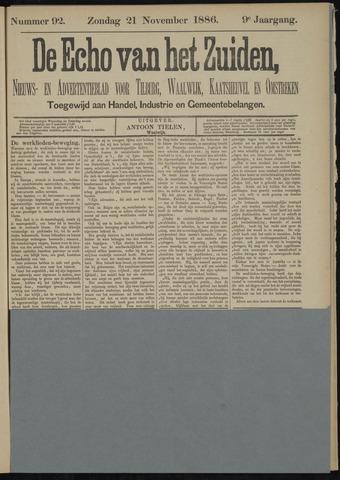 Echo van het Zuiden 1886-11-21