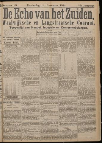 Echo van het Zuiden 1914-11-19