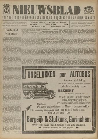 Nieuwsblad het land van Heusden en Altena de Langstraat en de Bommelerwaard 1924-06-06