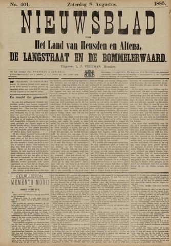 Nieuwsblad het land van Heusden en Altena de Langstraat en de Bommelerwaard 1885-08-08