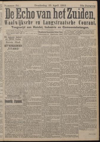 Echo van het Zuiden 1912-04-25