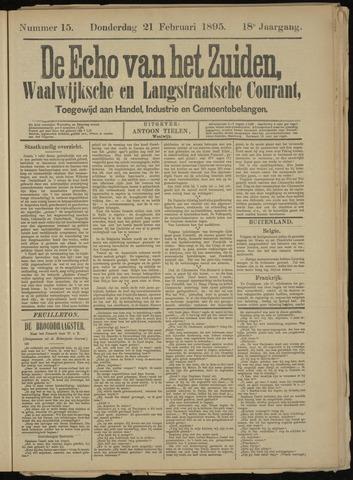 Echo van het Zuiden 1895-02-21