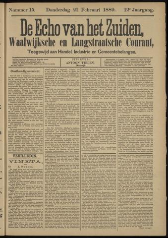Echo van het Zuiden 1889-02-21