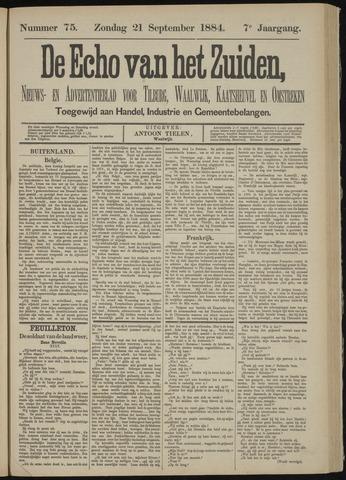 Echo van het Zuiden 1884-09-21